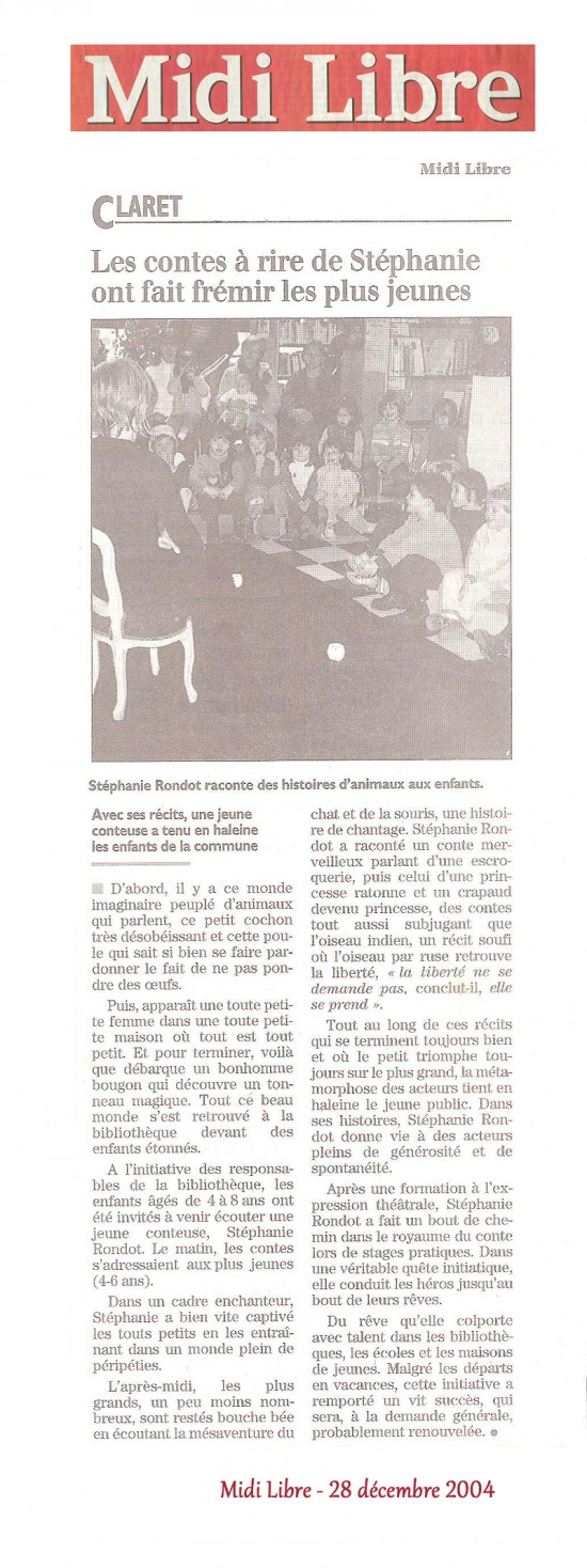 Midi libre 28.12.2004 – petit