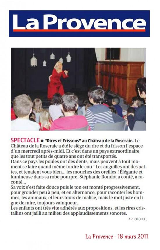 La Provence 18.03