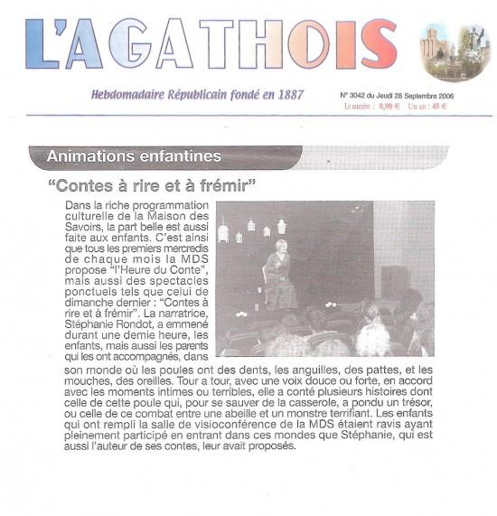 L'agathois – 28.09.2006
